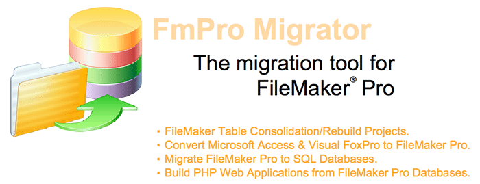 FmPro Migrator - The migration tool for FileMaker Pro Graphic