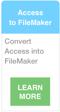 Transition Access to FileMaker Transition
