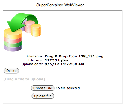 SuperContainer WebViewer