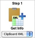 Step 1 - Clipboard XML Icon