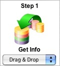 Step 1 - Drag and Drop Icon