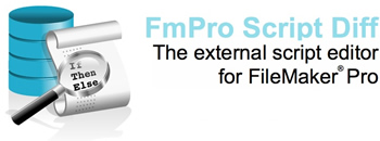 FmPro Script Diff - The external script editor for FileMaker Pro