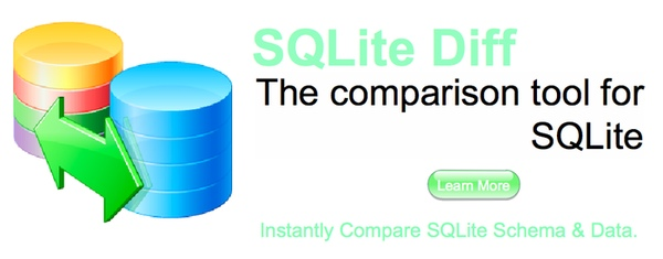 SQLite Diff - The comparison tool for SQLite database files.