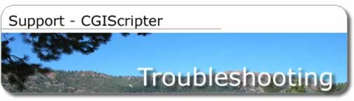 support troubleshooting title image